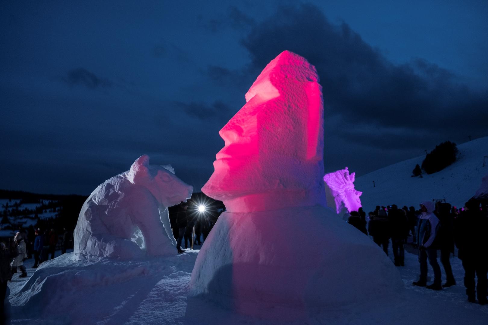 Nr. 11 Schneeskulpturen-Festival Bernau im Schwarzwald