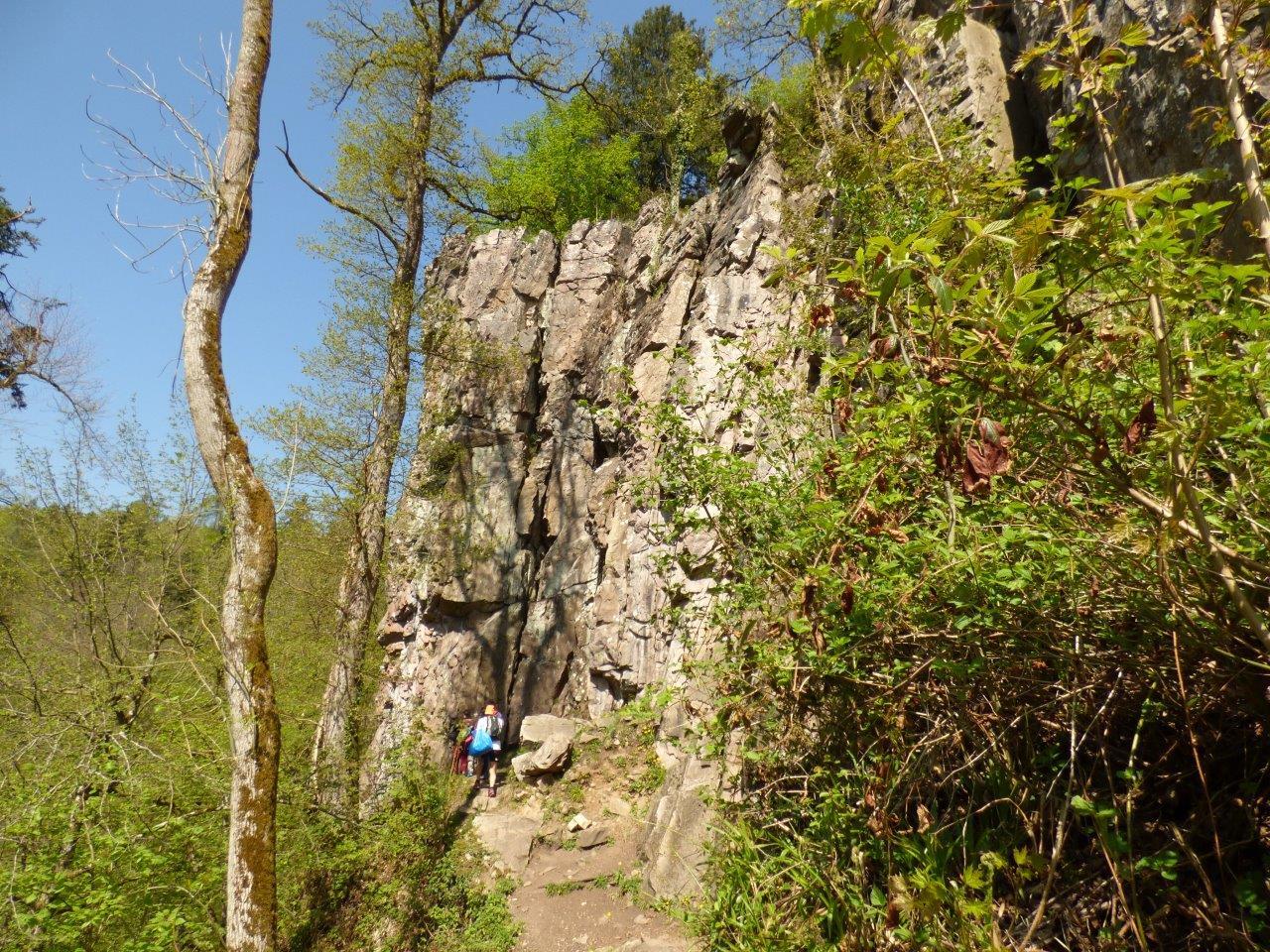 Klettern im Albtal – © Leithner