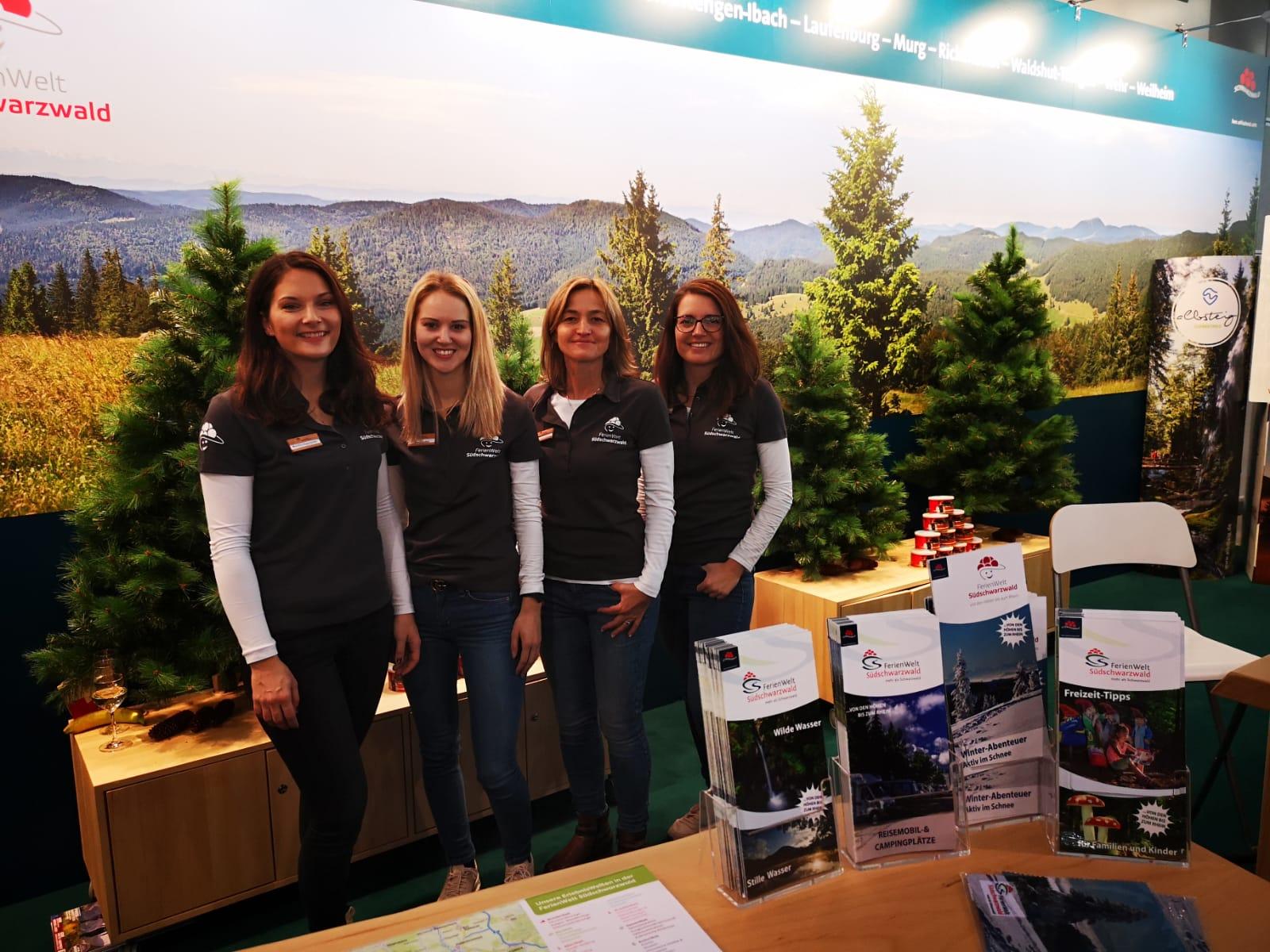 Unsere FerienWelt-Ladies - mit diesem Team macht der Standdienst Spaß!