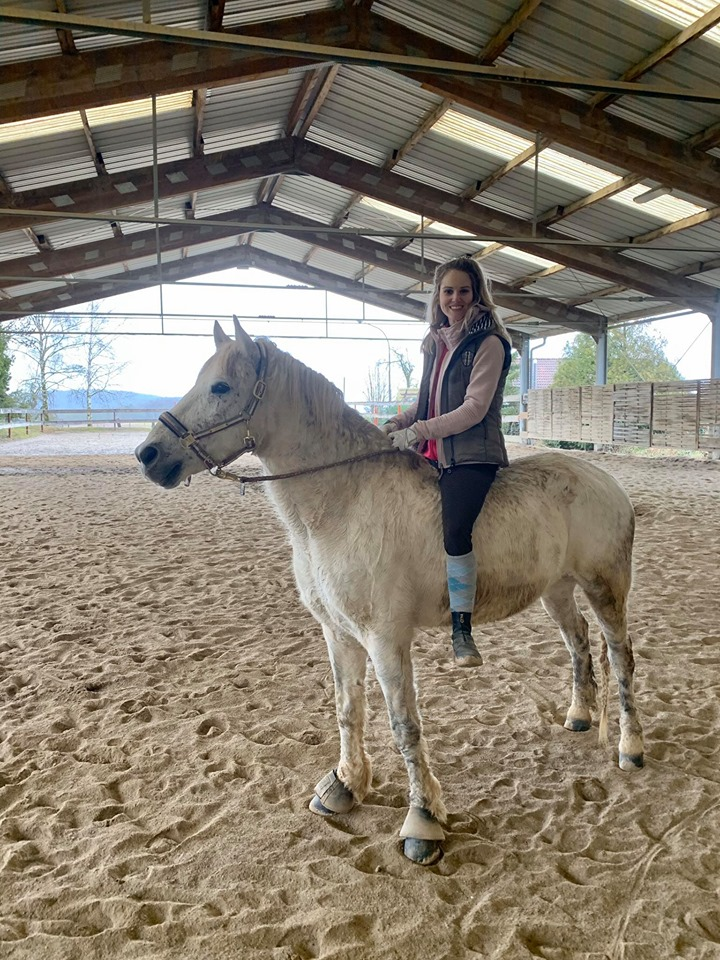 Anna mit Pegasus