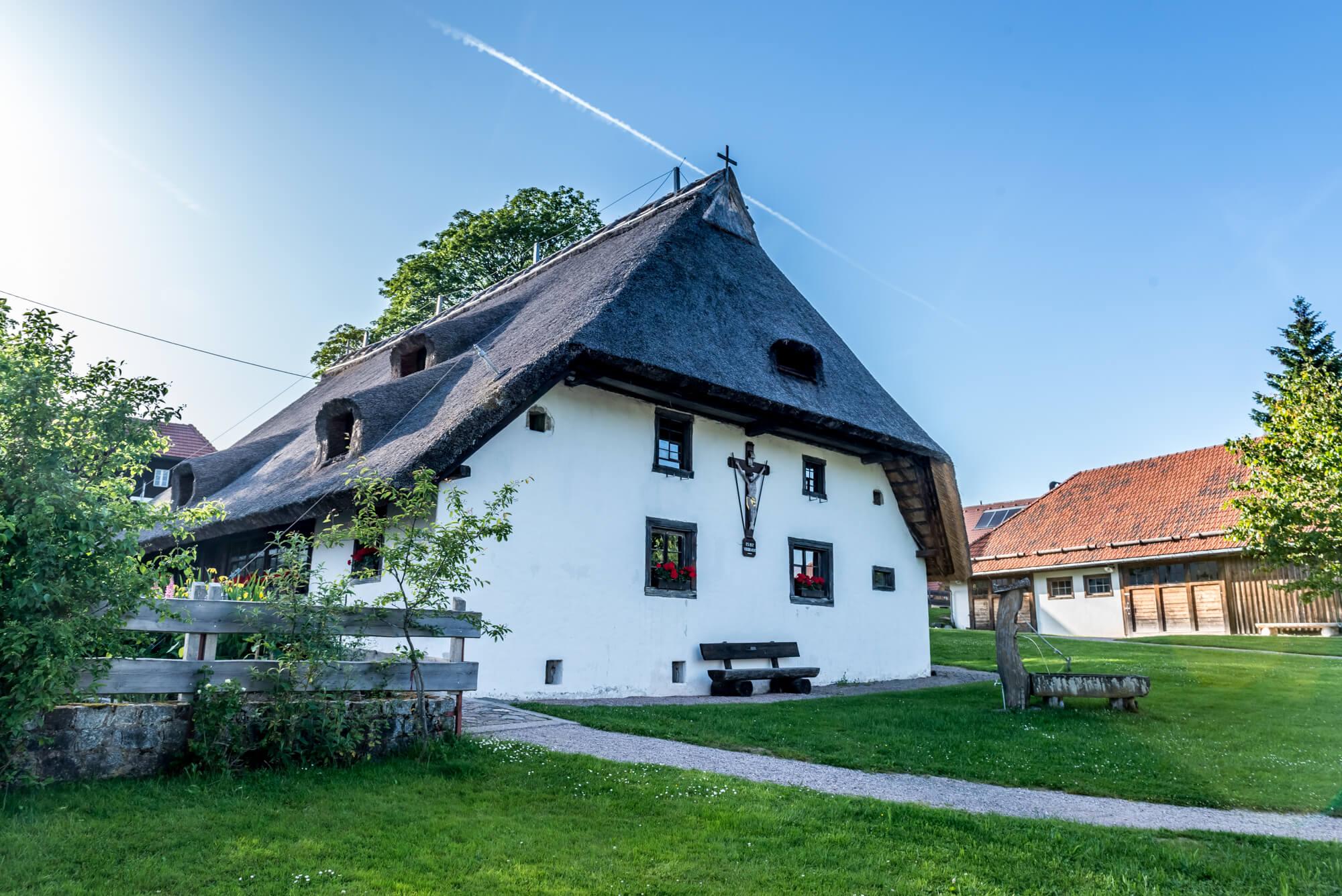 Klausenhof, Herrischried, Ferienwelt, Südschwarzwald, Schwarzwald, Natur, Landschaft, Wandern, Radfahren, Schwarzwaldhaus, Rieddach