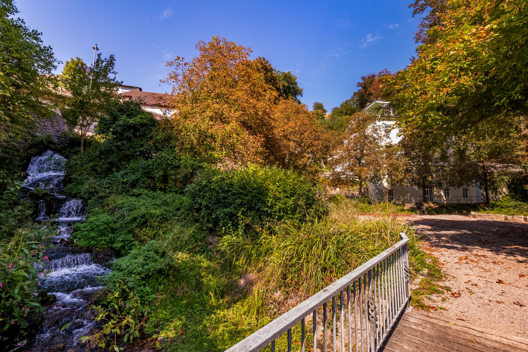 Der Park der Laufenburger Schlössle-Madame