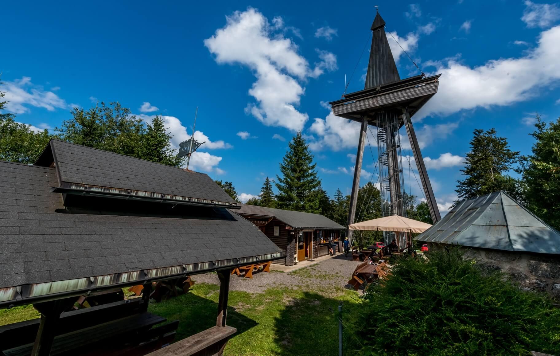 Gugelturm, Herrischried, Aussichtspunkt, Aussichtsplattform, Turm, Ferienwelt, Südschwarzwald, Schwarzwald, Wandern, Wandertour