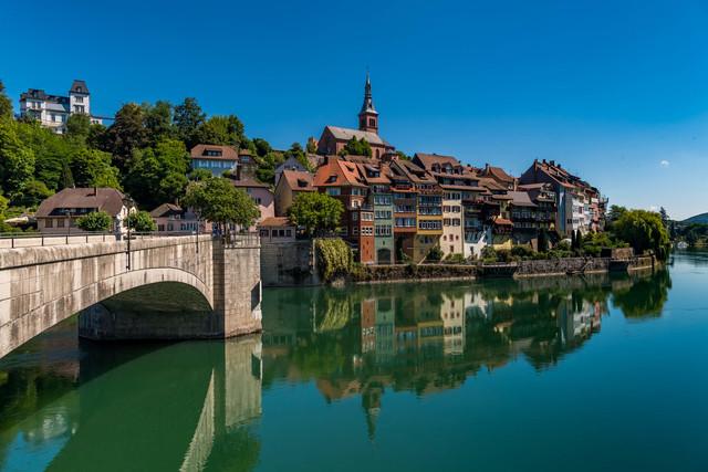 Rheinsicht Stadt Laufenburg