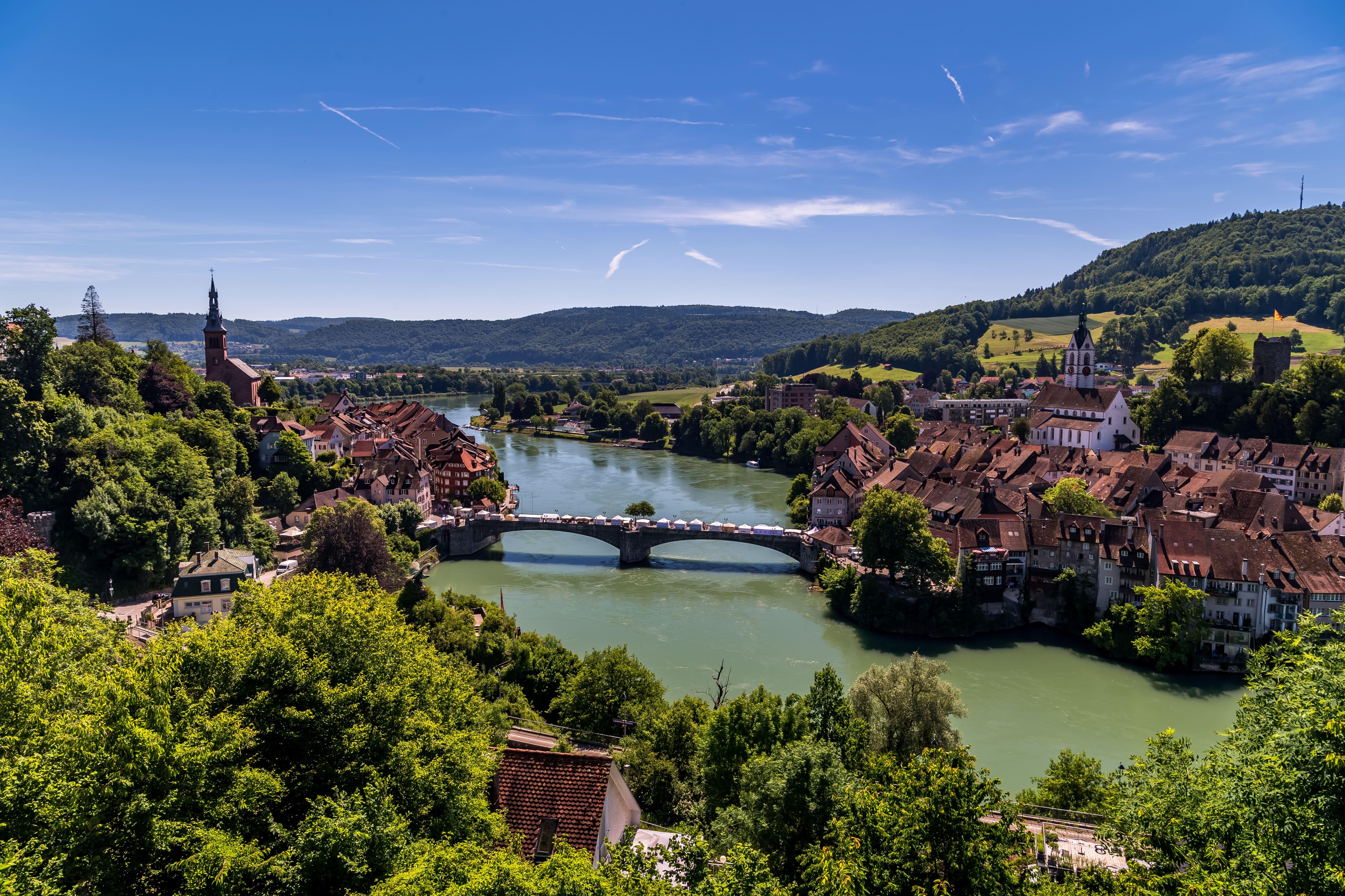 Laufenburg - eine Stadt, zwei Länder © Stadt Laufenburg