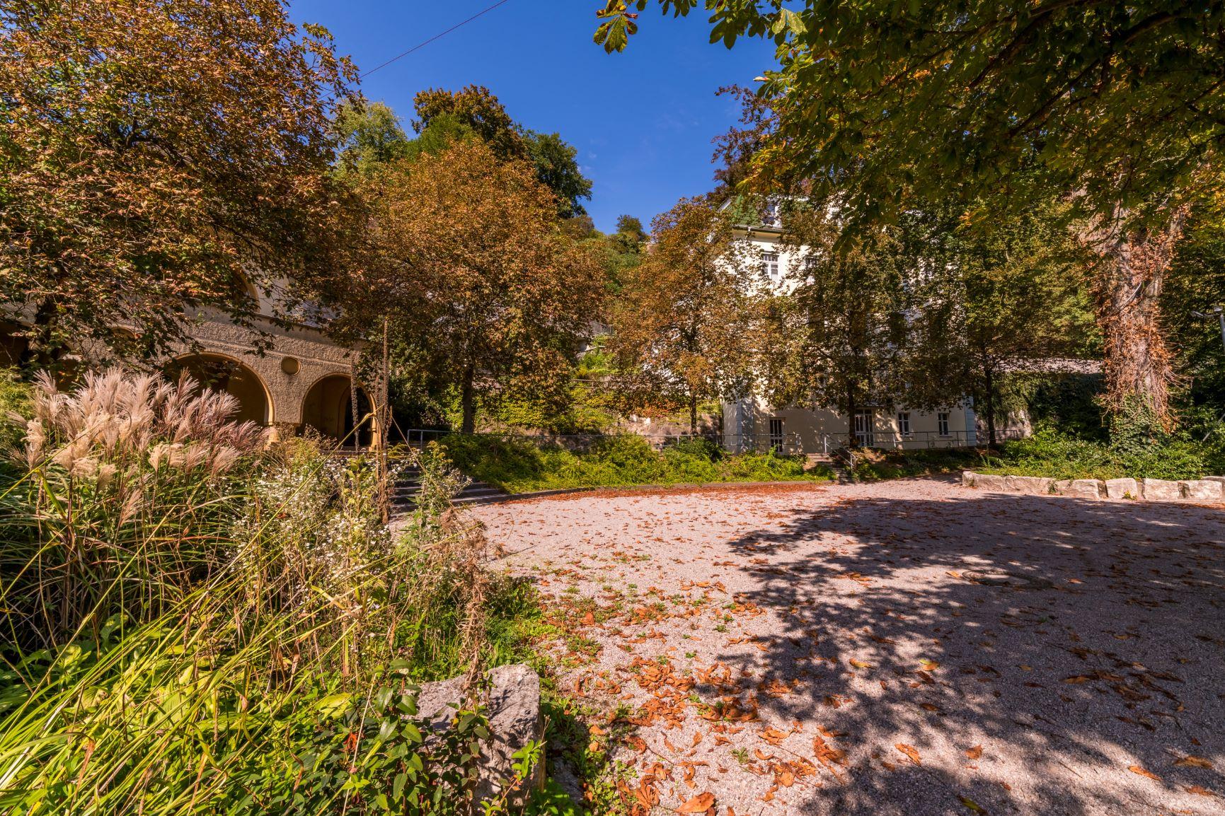 Der Garten der Codmananlage in Laufenburg