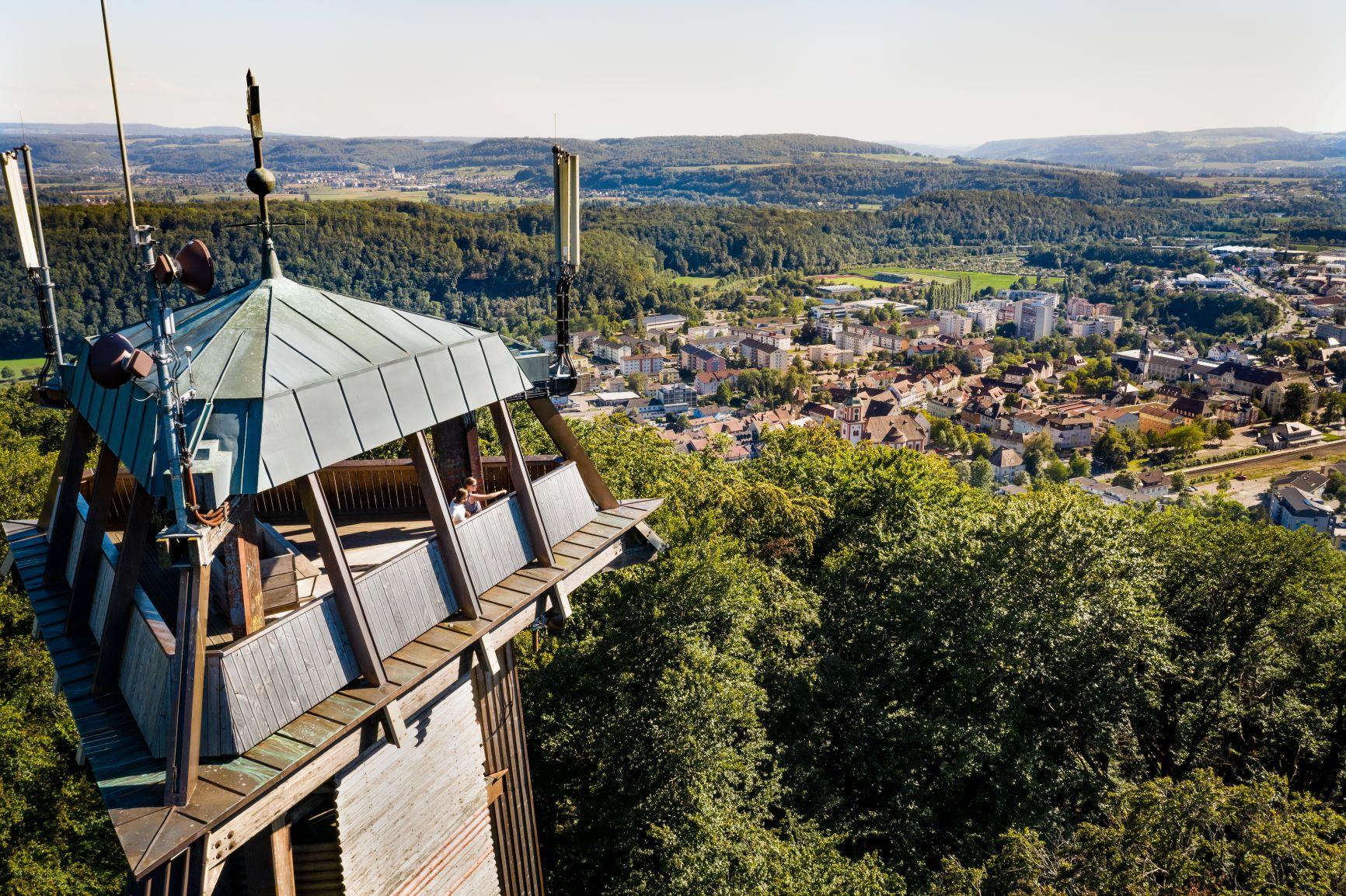 Vitibuckturm, Waldshut-Tiengen, Südschwarzwald, Schwarzwald, Turm, Landschaft, Sonne, Sommer, Winter, Herbst, Frühling, Natur, Stadt, Aussichtsturm, Aussicht, Aussichtsplattform