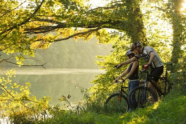 Radeln am Rhein Hohentengen