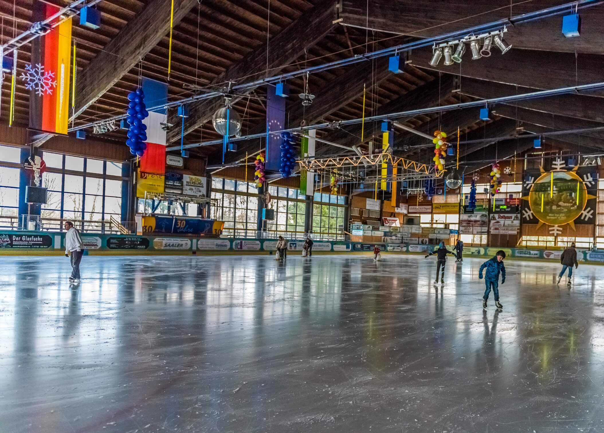 Eissporthalle Herrischried – © Klaus Hansen